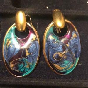 Jewelry - Clip-on vintage earrings